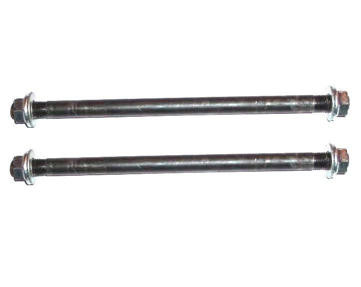 Voorwielas + Achterwielas - set 12mm