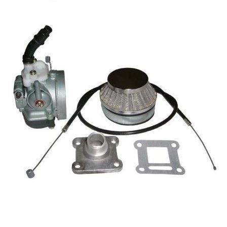 Performance Carburateur Kit - Dellorto imi 14mm (inclusief luchtfilter, inlaatspruitstuk, pakking en gaskabel)
