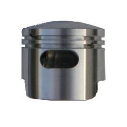 Zuiger met extra spoelpoort (Boosterpoort) voor de Bigborekits - 49cc - Boring 44mm - Pistonpen 10mm