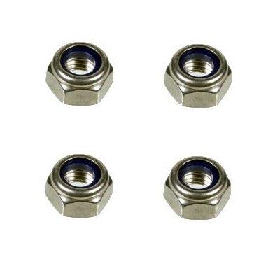 Moer - zeskant - M5 - set van 4 stuks