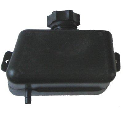 Benzinetank voor minicrosser - wit - vierkant model