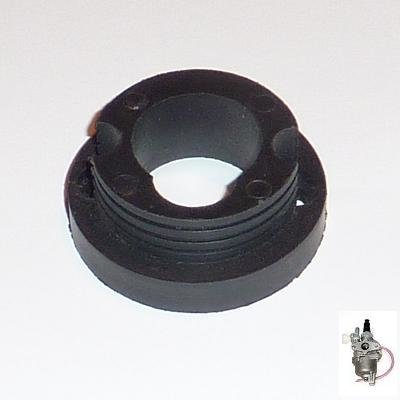 V-Stack - kunstof - voor montage van race luchtfilter op standaard (12mm) carburateur