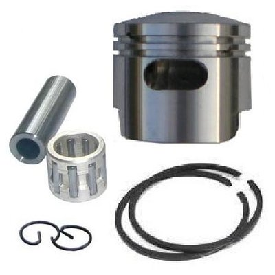 Zuigerkit met extra spoelpoort (Boosterpoort) voor de Bigborekits - 49cc - Boring 44mm - Pistonpen 10mm