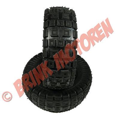 Miniquad Mini ATV buitenband (off-road) - maat: 3.00-4