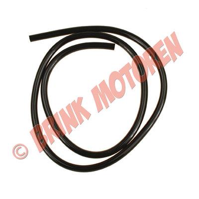 1 meter benzine brandstof slang zwart 5x8